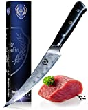 Boning / Fillet Knife: Best Quality Professional Japanese 6 Inch Razor Sharp AUS10 Premium High Carbon 67 Layer Damascus Stainless Super Steel Full Tang Chef's knives w/ G-10 Handle By Regalia Knives