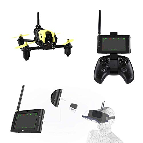 Hubsan X4 Storm Professional Version H122D FPV Racing Drone 3D Flip with LCD Video Monitor and HV002 Goggle.(Advance Mode 2 Drone Battery Included)