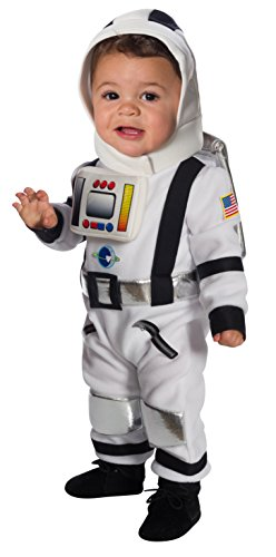 Rubie's Costume Lil' Astronaut Baby, white, Toddler