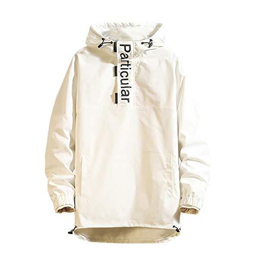 SHANGYI herfstjas Trenchcoat met capuchon Street Clothing heren dunne jas