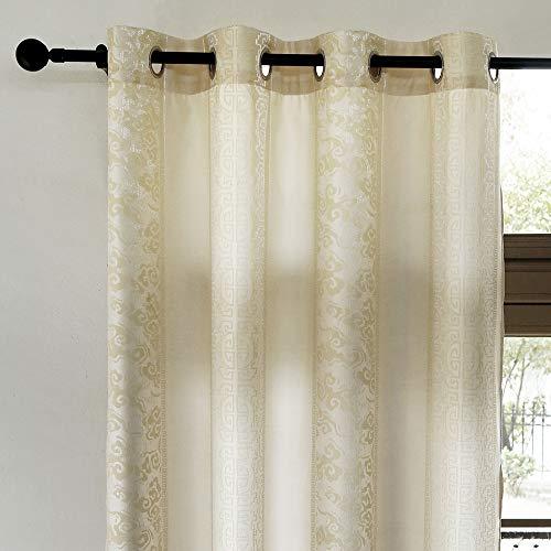 cortinas salon semiopacas