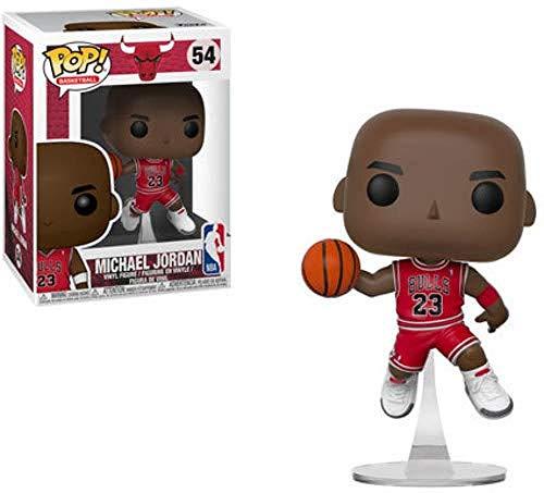 Funko Pop Vinyl: NBA: Bulls: Figura Coleccionable de Michael Jordan 36890 Multicolor