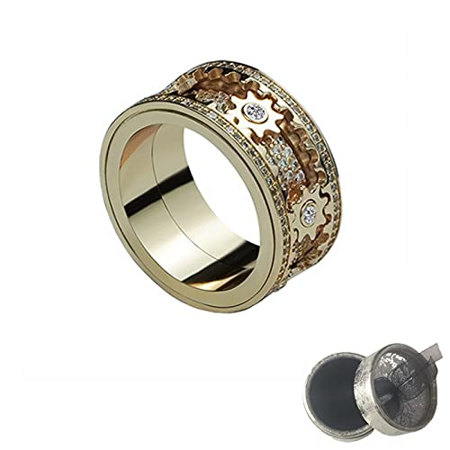 Anillo de torneado de engranajes, anillo de boda de tungsteno de fibra de carbono de la rueda de engranaje de, Aleación,