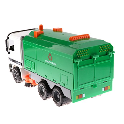 Toygogo Automodell Spielzeugauto 1/22 Kunststoff Engineering Fahrzeugmodell Spielzeug - Kehrmaschine