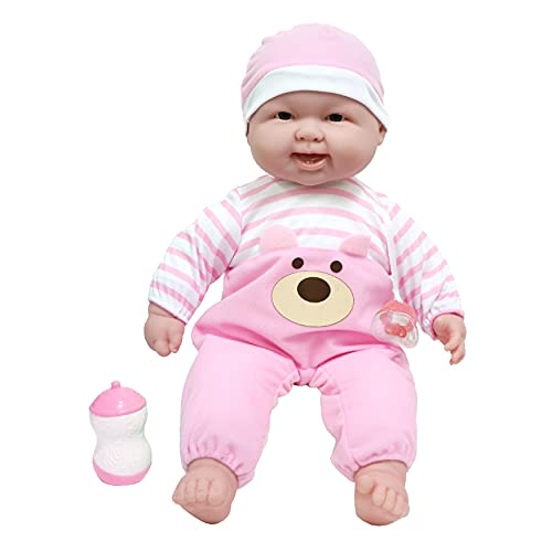 JC Toys ?Lots to Cuddle Babies? 20-Inch Pink Soft Body Baby Doll and Accessories Designed by Berenguer
