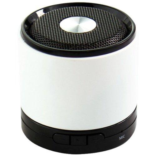 Easypix 53100 SoundBox kabelloser Bluetooth-Lautsprecher (2 Watt) weiß