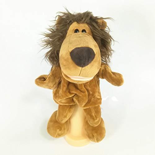 PANQQ 1PCS 30cm títere de Peluche de Felpa de pie de Animal Tridimensional, Juguetes para niños, muñecas apacibles, títeres de enseñanza temprana, Regalos de cumpleaños