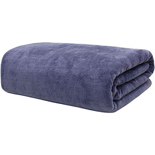SFBBBO Toallas de baño Toallas de baño Toallas de Mano Toallas Muy absorbentes Absorbente Suave Vapor Secado rápido 100x200cm