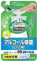 スクラビングバブル アルコール除菌トイレ用つめかえ用 × 3個セット
