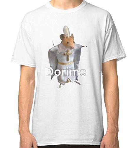WWZY Men's/Uomo Pope dorime ameno Priest Mouse Meme Classic Tshirt/Maglietta Small