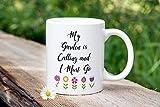 N\A Taza de café Divertida del café Que cultiva un huerto - Mi jardín está Llamando y Debo IR | Regalo para Jardinero | Regalo Maestro Jardinero | Entusiasta del jardín | Regalo para Ella