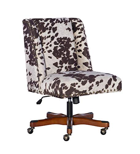 Linon Home Décor Brown Cow Print Clayton Office Chair