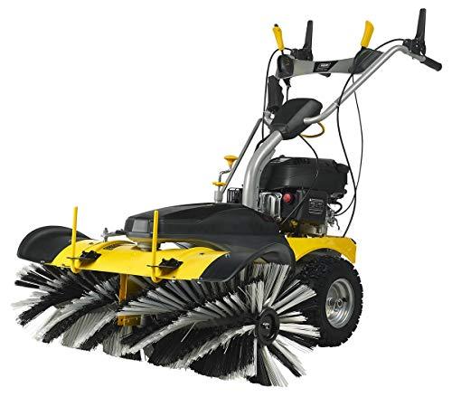 TEXAS Smart Sweep 1000E Benzin Kehrmaschine   3600 Watt Leistung   100 cm Arbeitsbreite   3+1 Gänge   Elektrostarter