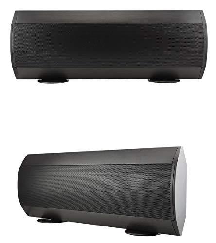 Buy 2 x Phase Tech TFS1.0 Ultra Thin Soundbar 100W 8 Ohm Speaker Surround