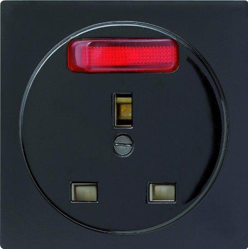Gira 048947 stopcontact BS uitschakelbaar S-Color, zwart