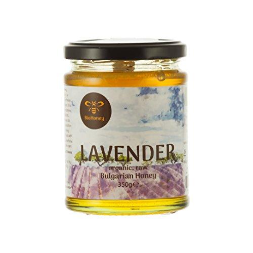 Bio Lavendelhonig ,hochqualitativer Honig aus Bulgarien, eigene Imkerei, EU-Bio-Zertifizierung (350 Gramm) DE-ÖKO-006
