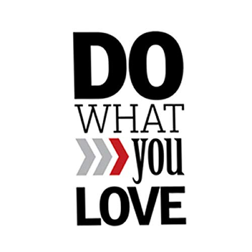 Jphozup Do What You Love Love What You Do Motivational 40x50cm no Frame and Prints Painting Canvas Painting Modern Wall Art and Decor