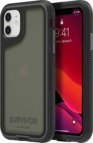 Griffin Technology Funda Survivor Extreme para iPhone 11 Negra/Transparente