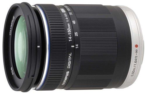 Olympus M.Zuiko Digital ED Obiettivo 14-150mm 1:4.0-5.6, Micro Quattro Terzi, per Fotocamere OM-D e PEN, Nero