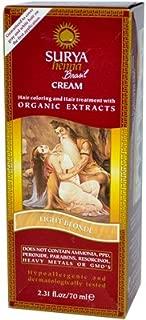 Surya Henna Light Blonde Cream 2.31 Ounces