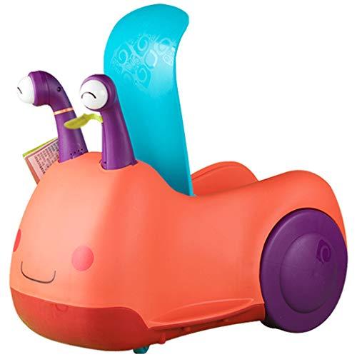 Kinder Walker Schnecke Auto Baby Fahrt Roller Anti-Rolling Laufband Spielzeug Umweltfreundliche Material Lostgaming