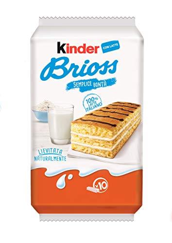 Kinder Brioss, confezione da 10 merendine - 270 gr