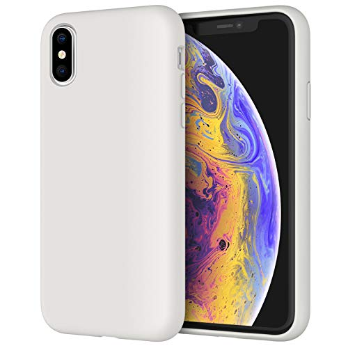 JETech Funda de Silicona Compatible iPhone X, iPhone XS, 5,8