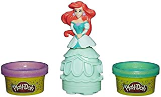 play doh disney princess ARIEL - sparkle mix 'n match