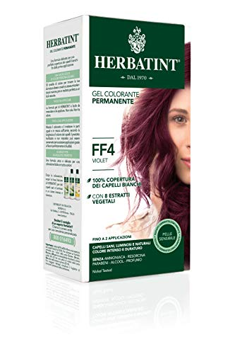 Herbatint - Flash Fashion 135ml Coloration Herbatint - Ff4 Violet