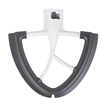 GVODE Flex Edge Beater for KitchenAid Tilt-Head Stand Mixer 4.5 and 5 Quart -Coated Metal Flat Beater with Flexible Silicone Edge