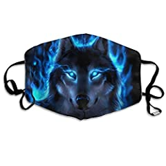 "Size: 7""L X 4.3""W/ 18 X 11 Cm, With Adjustable Straps. Material: 100% Polyester, Soft, Practical, Lightweight And Breathable. Ergonomic Cut On Nose Detial And Ear Loop Adjustable Buckle For Closely Fit; High Elastic Ear Loop Mouth-mask Is Wide Enough..."