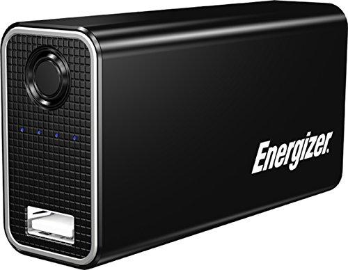 Energizer UE2602 Portable Charger - Caricabatteria Portatile Universale da 2600mAh, 4 Luci Led Per Il Controllo Del Livello di Carica Per Smartphone E Altri Dispositivi Mobili, Nero