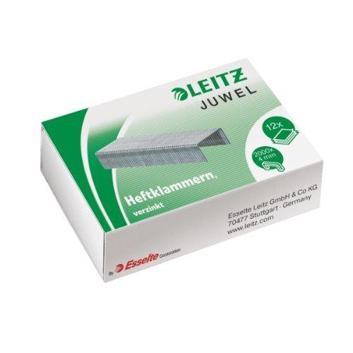 LEITZ Heftklammern JUWEL, verzinkt, 4 mm 4002432396689