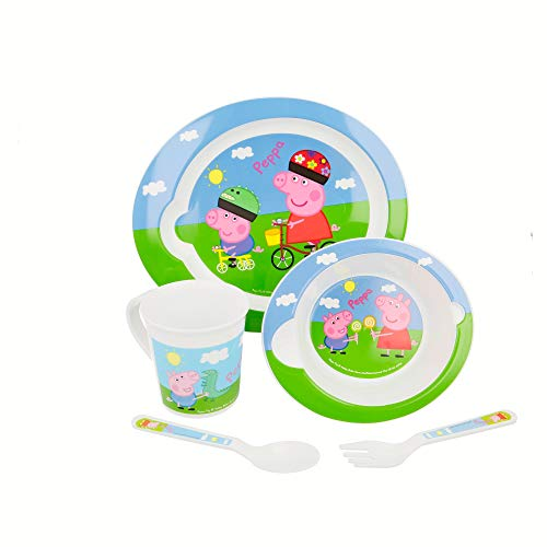 SET MICRO BABY 5 PCS. PEPPA PIG
