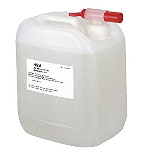 HSM - Aceite limpiador para máquina trituradora de documentos, 5 l
