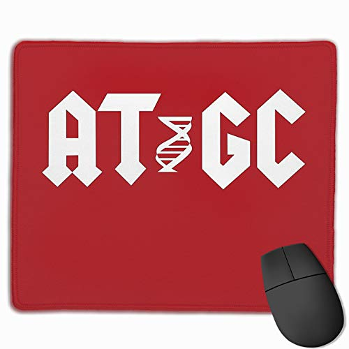 Molecular Biology DNA- at Gc Non-Slop Rubber Mousepad Gaming Mouse Pad with Stitched Edge 11.8'X9.8'