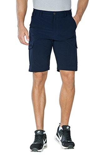 Nonwe pour Homme extérieur étanche à séchage Rapide Pantalon Cargo Convertible, Homme, Bleu