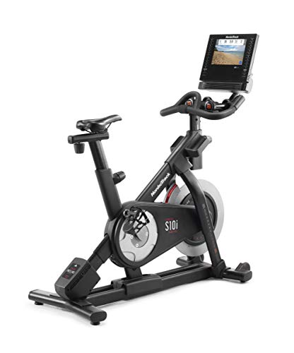 NordicTrack - Bicicleta estática Commercial S10i Studio Cycle con suscripción de 1 año a iFit incluida