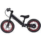 Changor Bicicleta de niño Negro, Hecha de aleación de Aluminio Capacidad de reacción de la aleación Traen niños niño Bicicleta
