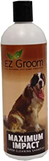 EZ Groom Maximum Impact Dog Shampoo 16 Ounces - Ready to Use