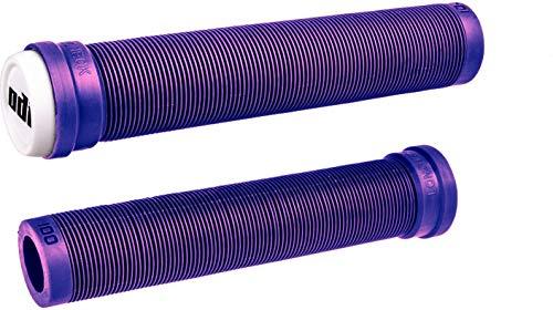 ODI SLX Soft BMX - Puños para patinete de 160 mm con barras + pegatina Fantic26 (Lila)