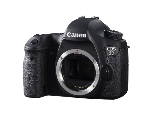 "Canon EOS 6D - Cámara réflex Digital de 20.2 MP (Pantalla 3.2"", vídeo Full HD, GPS), Color Negro - Solo Cuerpo"