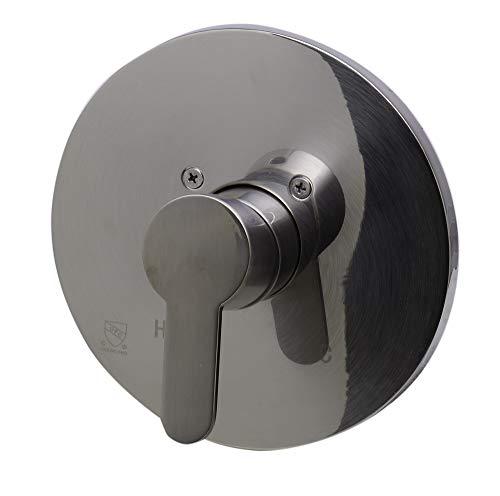 Moderna ducha mezcladores en acabado de níquel cepillado