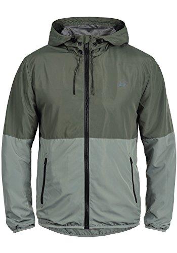 Blend Athletics Minato Herren Jacke Sportjacke Trainingsjacke aus hochwertiger Materialqualität, Größe:S, Farbe:Raven Grey (75112)