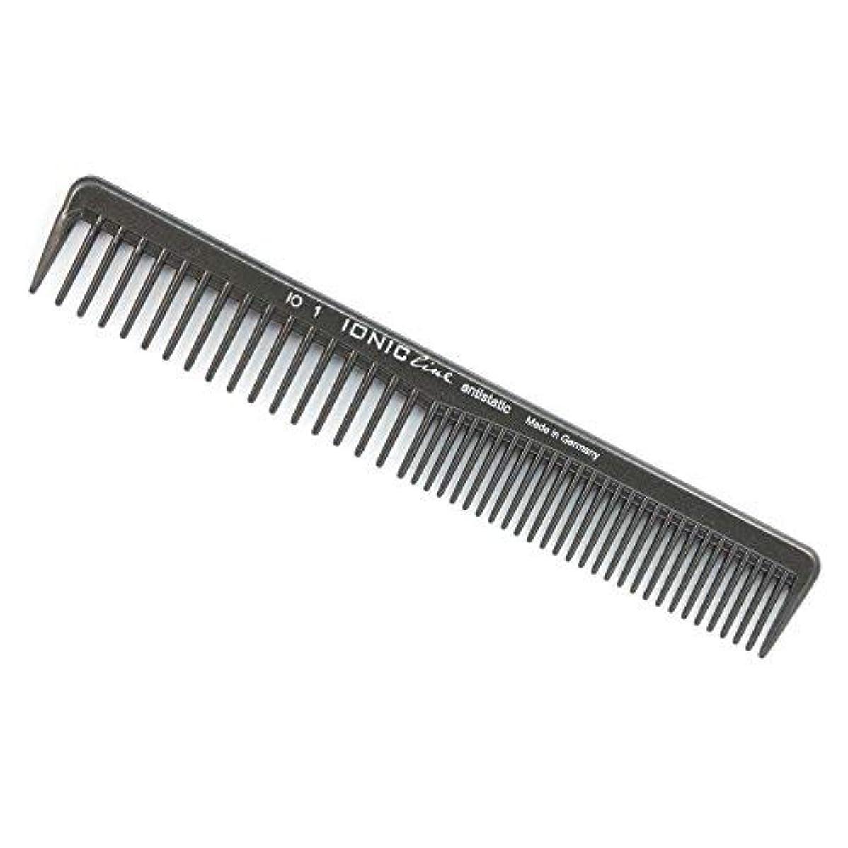木減衰理容師Hercules S?gemann Ionic Line Cutting Comb with coarse and Very coarse Teeth | Ionized Thermoplastic - Made in Germany [並行輸入品]