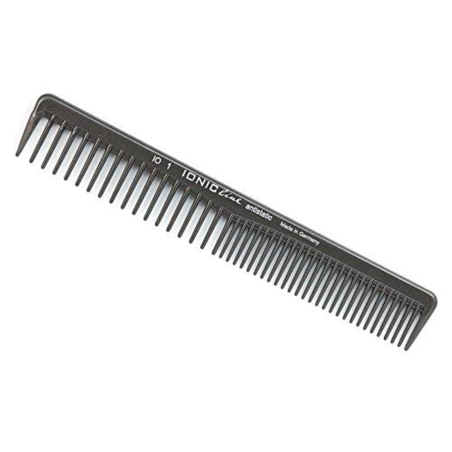 財布バック前部Hercules S?gemann Ionic Line Cutting Comb with coarse and Very coarse Teeth   Ionized Thermoplastic - Made in Germany [並行輸入品]