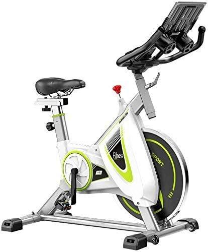 Bicicleta estacionaria de ciclismo interior, bicicleta ultra tranquila de ejercicios magnéticos para el hogar con monitor LCD para el entrenamiento en bicicleta de entrenamiento de cardio en el hogar