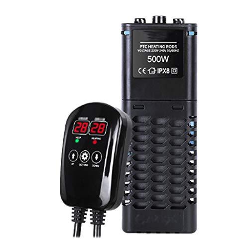 XDD Calentador de Pecera de Peces Termostato Automático con LED Termómetro de Tanque de Peces Digital Seguro a Prueba de Explosiones Ahorro de Energía Y Protección del Medio Ambiente