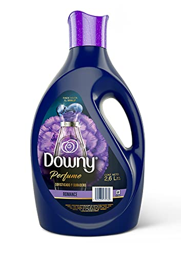 Downy Suavizante De Telas Concentrado Perfume Romance 2, 6 L, color, 2.6 ml, pack of/paquete de