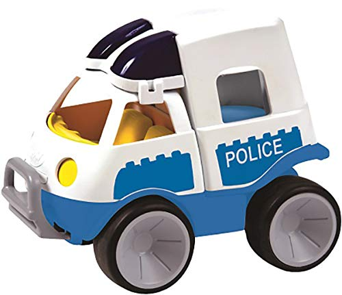 Gowi - 560-37 - Jouet D'éveil - Mini Voiture De Police